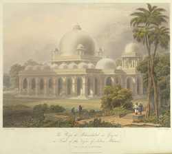 The Roza at Mehmoodabad in Guzerat, or tomb of the Vizier of Sultan Mehmood